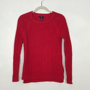 Gap Knitted Red Sweater